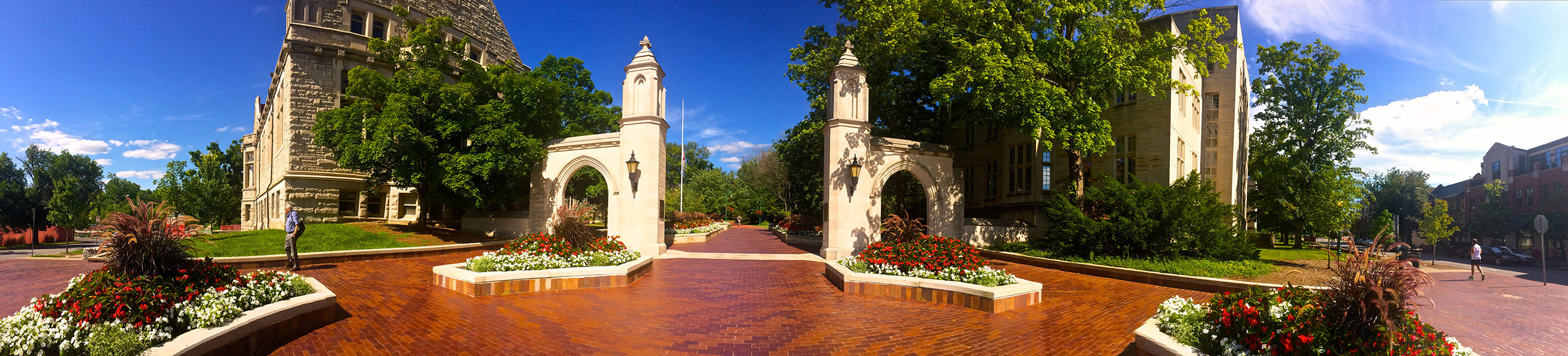 IU Bloomington's Sample Gates